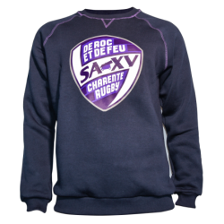 Sweat-Shirt Col rond BLASON...